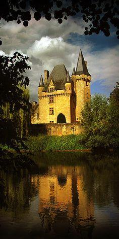 Chateau de Clerans, Pèrigord, Dordogne, France