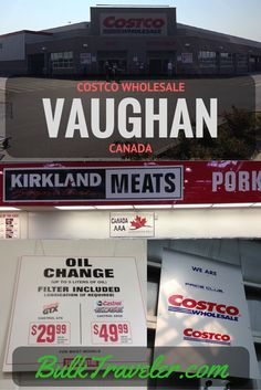 BulkTraveler takes a trip to Canada to get our oil changed at Costco!