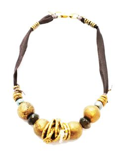 De Petra Leather necklace