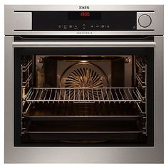 Buy AEG BS831410KM ProCombi Steam Oven, Stainless Steel Online at johnlewis.com