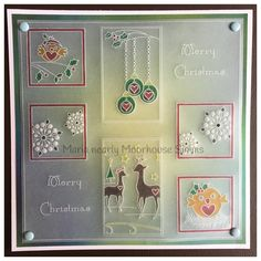 Christmas Inspiration, Christmas Ideas, Christmas Cards, Xmas, Clarity Card, Parchment Cards, Fall Cards, Card Tags, All Things Christmas