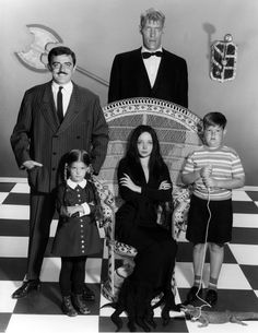 UNITED STATES - SEPTEMBER 18: THE ADDAMS FAMILY - Pilot - Season One - 9/18/64, ' The Addams Family' was based on the characters in Charles Addams' ' New Yorker' cartoons. Description from gettyimages.com. I searched for this on bing.com/images