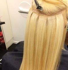 Gorgeous Long Blond Hair Extensions  Extensions de cheveux en bandes http://instagram.com/hairbeautynw Hair&Beauty / Nadine W. ❥ ✂️ Haarextensions-specialist &'Beautician /  076 379 10 93- Zürich Volketswil / hairbeautynw@hotmail.com