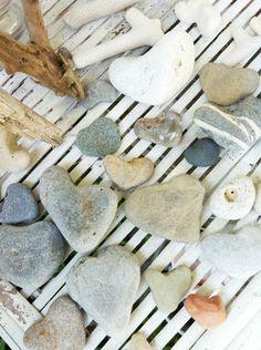 huisjekijken gespot   verzameling hartenstenen