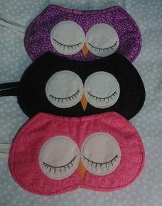 Máscara para dormir corujice vc encontra no Facebook ateliegabi@gmail.com