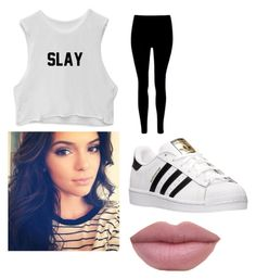 """""""Untitled #157"""" by journeycarothers on Polyvore featuring adidas"""