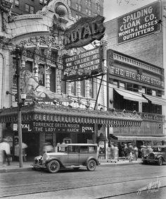 Royal Theater, c1927