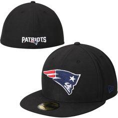 Mens New England Patriots New Era Black Print Back Black 59FIFTY Fitted Hat  Patriots Afc 0bd7ee7b1