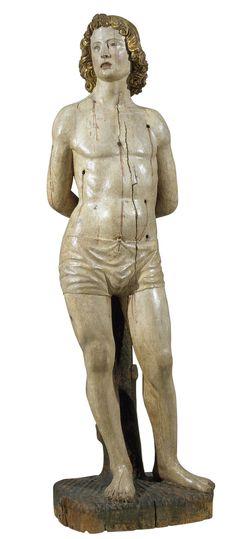 Andreas Bregno, San Sebastiano, 1480-1490. Catalogna, Museo Nazionale d'Arte.