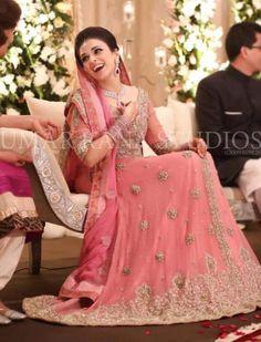 peachy pink wedding/valima