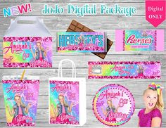 Custom designed party favors for any occasion or theme by EnvisionFavorsLLC Jojo Siwa Birthday, 11th Birthday, Birthday Ideas, Birthday Parties, Birthday Activities, Work Activities, Birthday Stuff, Jojo Bows, Barbie Party
