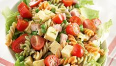 Eat To Live, People Eating, Pasta Salad, Side Dishes, Food And Drink, Healthy Recipes, Healthy Food, Baking, Ethnic Recipes