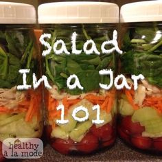 Salad in a Jar 101: Everything you need to know!