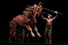"""Can you say """"Whoa, Nelly!""""? The stage play of """"War Horse"""" features this amazing puppet."""