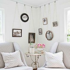 Here are some wonderful tips on hanging your beautiful pictures and artwork!  Let's get creative!