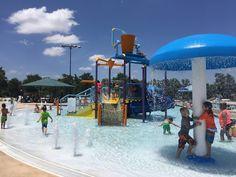 Cedar Park Splash Pad and Pool at Veteran's Memorial Water Playground, Twin Lakes, Splash Pad, Cedar Park, Lake Park, Veterans Memorial, Parks And Recreation