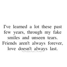 um wow..sad but true..fits my past year to a T!!!