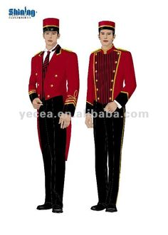 hotel doorman uniform