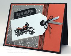 SUO Harley Birthday with Rev Up The Fun by krissiestamps - Cards and Paper Crafts at Splitcoaststampers