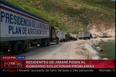 Residentes De Jimaní Piden Al Gobierno Solucionar Problemas