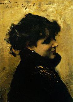 Madame Errazuriz, c. 1880-02  John Singer Sargent  Private collection  ~Via A.C.C