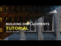 2D Buildings to 3D Building Displacements - Cinema 4D & Octane Render - YouTube