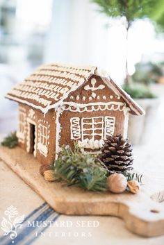 Share Would you believe that I have never made gingerbread houses or cookies from scratch?