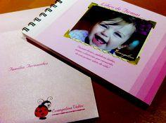 Libro de firmas con fotos, un detalle para la fiesta de tu bebe...