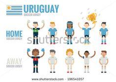 stock-vector-uruguay-soccer-team-character-flat-design-vector-196541057.jpg (450×320)