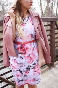 Rosey Pink | Urban Ombré -- A Fashion Blog