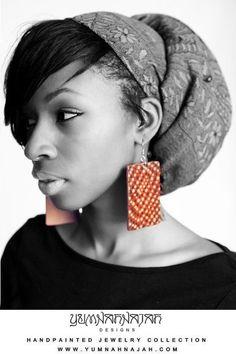 "Yumnah Najah, 18.Creator and Head Designer of Yumnah Najah Designs hand painted jewelry. www.YumnahNajah.com ""Become The Masterpiece"""