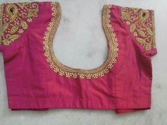 To order pls WhatsApp me to 91 7730891805 Wedding Saree Blouse Designs, Pattu Saree Blouse Designs, Blouse Designs Silk, Hand Work Blouse, Simple Blouse Designs, Simple Designs, Maggam Work Designs, Blouse Models, Blouses
