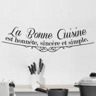 Best Citations Cuisine Images On Pinterest Quote Wall Decals - Citation sur la cuisine