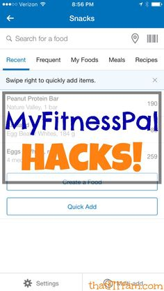How to use MyFitnessPal. Easy tutorial with pictures! Best practices to ensure your success in reaching your fitness goals once & for all.