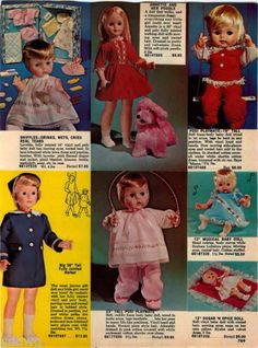 1967-ADVERT-Ideal-Goody-Two-Shoes-Lucy-Terry-Teeny-Tiny-Tears-Doll-Dolls-Tressy