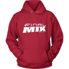 Final Mix Show Band Hoodie - White Logo
