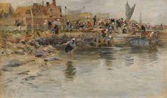 MARINES & Autres peintures: Wilhelm Von GEGERFELT (1844 - 1920)