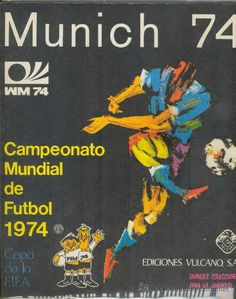 Resultado de imagen para album mundial 1974
