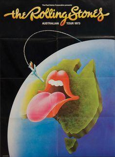 The Rolling Stones Tour of Australia 1973
