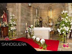 Vídeo en el que podrás ver diferentes formas de decorar la iglesia para el día de tu boda.