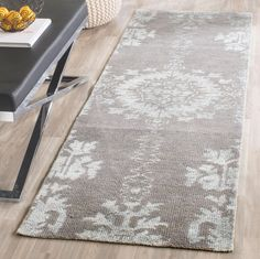 Stone Wash Collection STW235I Color: Grey STW235I - #safavieh #safaviehrugs #safaviehrunners #rugrunners #rugs #hallwayrugs #entrywayrugs #staircaserugs #staircasecarpets #entrywaycarpts #bedroomrugs #livingroomrugs #diningroomrugs #kitchenrugs #hallwaydecor #entrywaydecor #shoprugs #runnercarpets #bluerunnerrug #tauperunnerrug