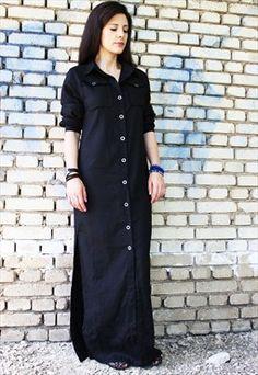Couleur Lin Khaki Carmen Linen Dress - Plus Too | Linen dresses ...