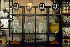 "The homemade distilled spirits: gin, vodka, aquavit and the secret ""Hapå""-aquavit"