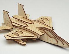 Items op Etsy die op Laser Cut Puzzel Model - Bucket Loader lijken