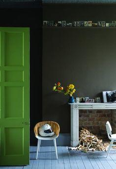 Bildergebnis für wandfarben dunkle palette