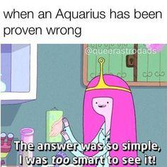 More Aquarius memes! Capricorn Aquarius Cusp, Aquarius Traits, Aquarius Quotes, Zodiac Signs Horoscope, Zodiac Star Signs, Astrology Zodiac, Astrology Numerology, Spiritual Horoscope, Spiritual Names