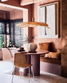 Warm Color Schemes, Warm Colors, Color Inspiration, Interior Inspiration, Half Painted Walls, Warm Bedroom, Ras El Hanout, Architecture Design, Warm Home Decor