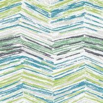 Robert Allen Sunbrella Painted Lines Spring Grass 242233 Indoor / Outdoor…