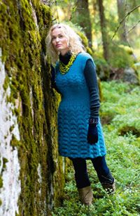 Tiina-tunika - Katso neuleohje: Kotiliesi.fi - Knit dress