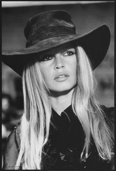 BRIGETTE BARDOT. Her look is still copied on magazine covers.